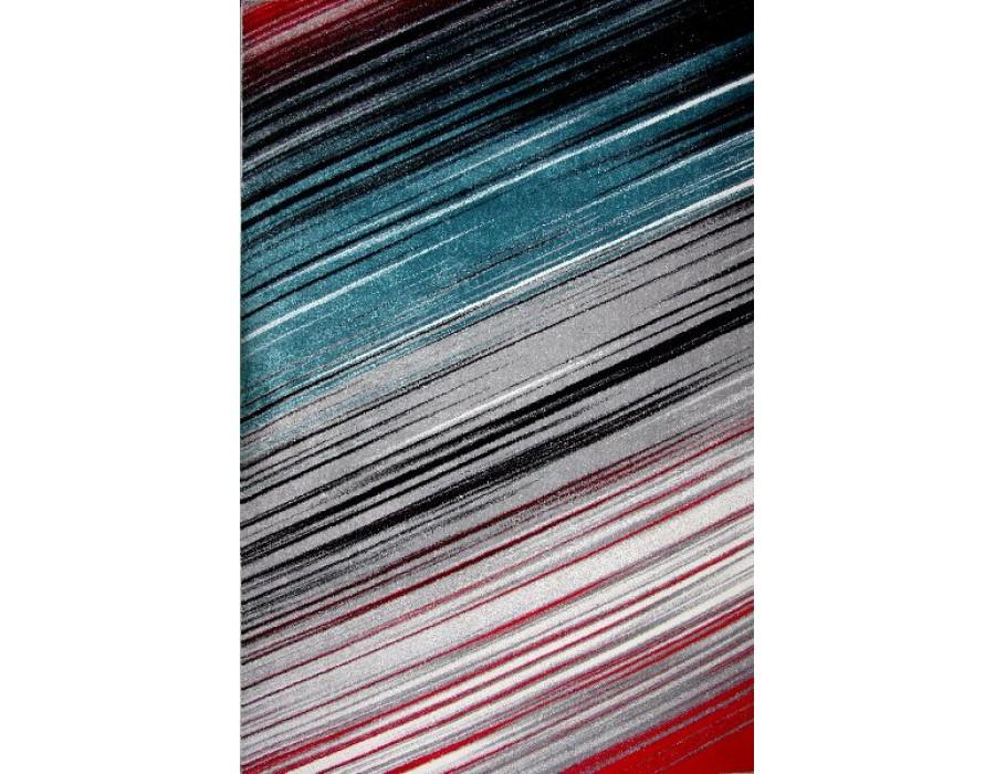 Covor Kolibri Albastru/Gri/Rosu Dreptunghi - 11009/294
