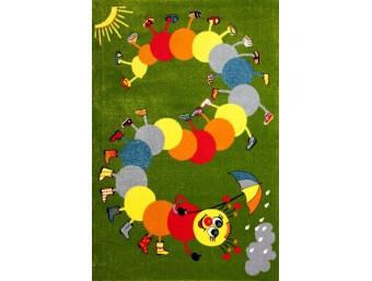 Covor Kolibri Copii Verde Dreptunghi - 11057/130