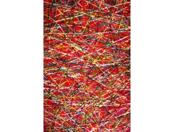 Covor Kolibri Rosu Dreptunghi – 11035/120