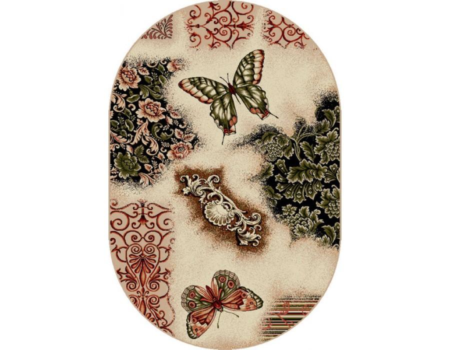 Covor Lotus Fluturi Oval – 1607/110