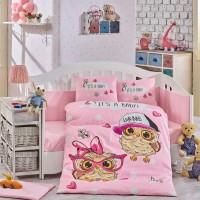 Lenjerie de pat copii Bumbac 100% Coolbaby Pink
