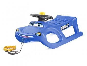Sanie copii  Happy Car S2 Albastru