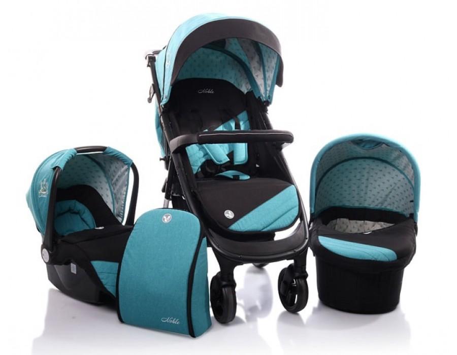 Carucior copii 3 in 1 C2 Cangaroo Albastru