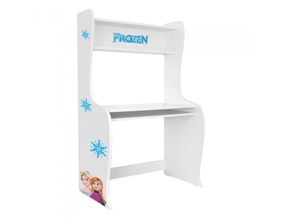 Birou Copii Frozen cu Glisiera