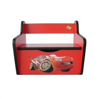 Pachet Dormitor Complet Copii Fulger McQueen Mare - 2-12 ani
