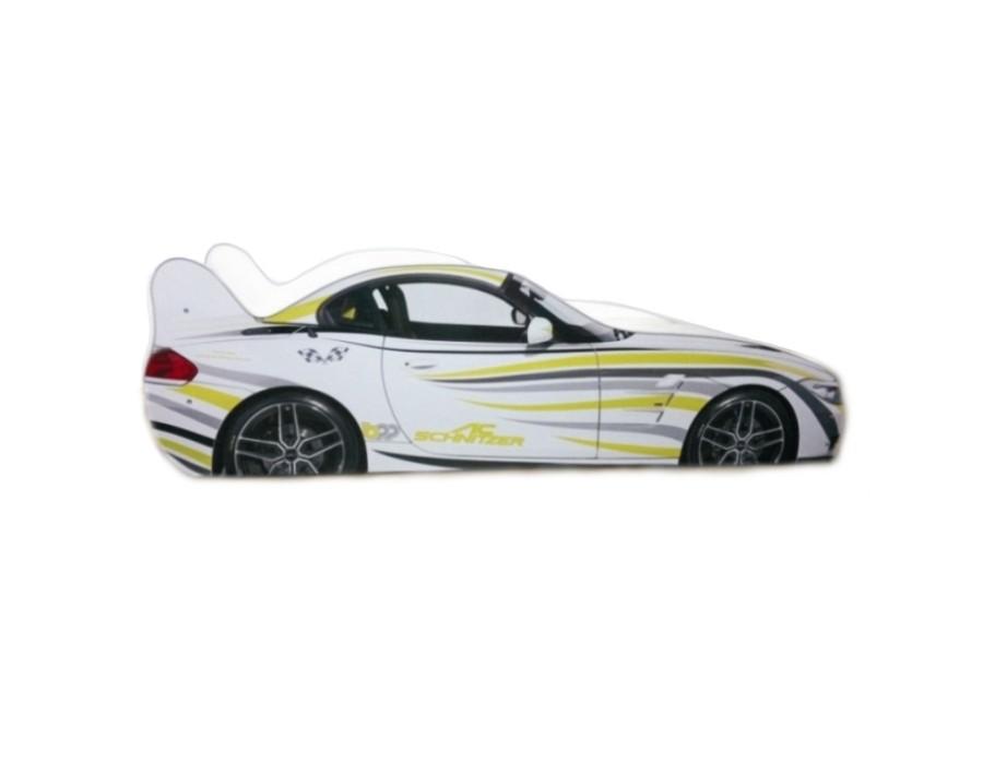 Pat Copii BMW Zebra Mic 140x70 - 2-8 ani