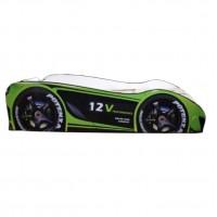 Pachet Pat Copii Champion Green Mic + Saltea Spuma 140x70x12 - 2-8 ani