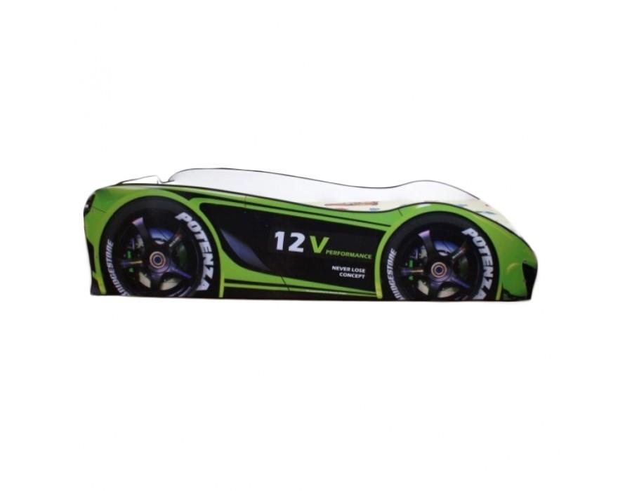 Pachet Pat Copii Champion Green Mare + Saltea Spuma 160x80x12 - 2-12 ani