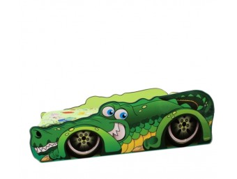 Pat Copii Crocomobil Mare 160x80 - 2-12 ani