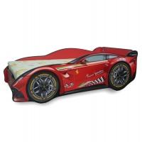 Pat Copii Ferrari Tech Mic 140x70 - 2-8 ani