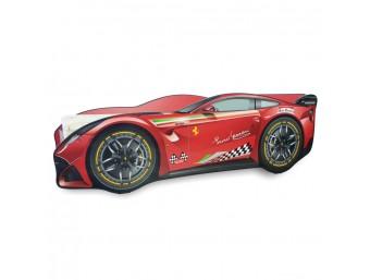 Pat Copii Ferrari Tech Mare 160x80 - 2-12 ani