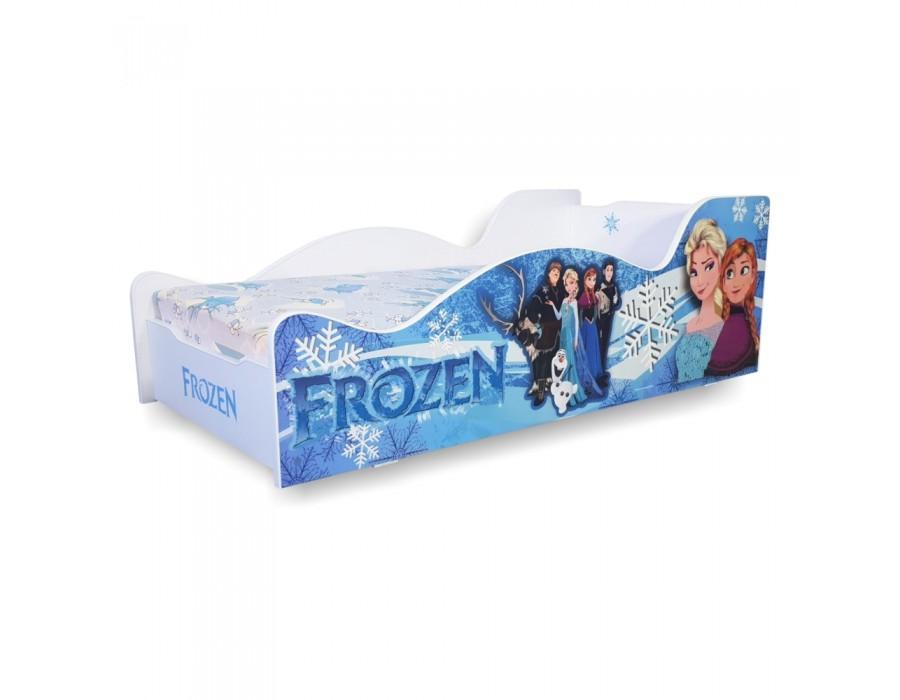 Pachet Pat Copii Frozen Mare + Saltea Spuma 180x90x12 - 2-14 ani