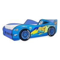 Pat Copii Fulger 3D Blue Mic 140x70 - 2-8 ani