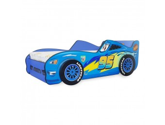 Pat Copii Fulger 3D Blue Mare 180x90 - 2-14 ani