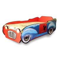 Pat Copii Mickey Car Mic 140x70 - 2-8 ani