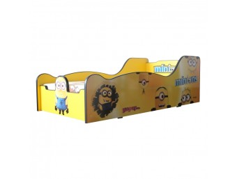 Pat Copii Minions Mare 180x90 - 2-14 ani