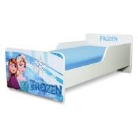Pat copii Start Frozen – Mare 160x80cm - 2-12 ani