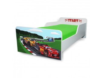 Pat copii Start Racing – Mare 160x80cm - 2-12 ani