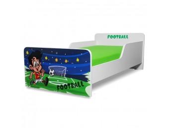 Pat copii Start Fotbal - Mare 160x80cm - 2-12 ani