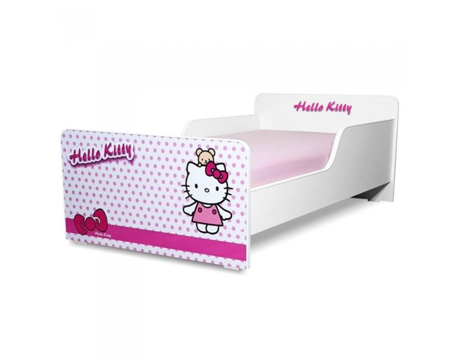 Pat copii Start Hello Kitty - Mare 160x80cm - 2-12 ani
