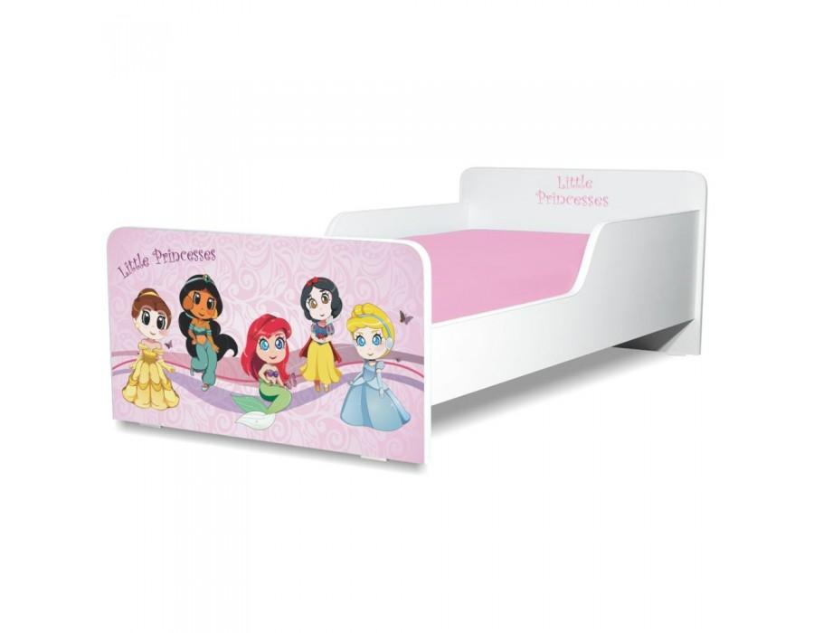 Pat copii Start Little Princesses - Mare 160x80cm - 2-12 ani