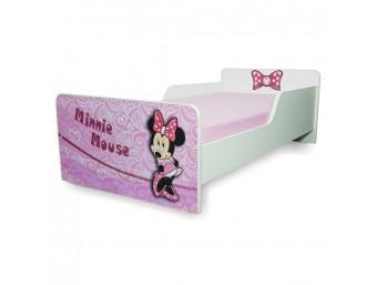 Pat copii Start Minnie - Mare 160x80cm - 2-12 ani