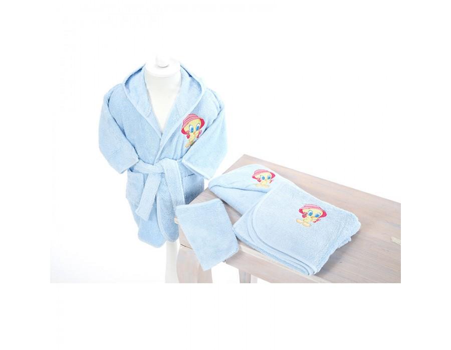 Set de baie nou-nascut Tweety Blue