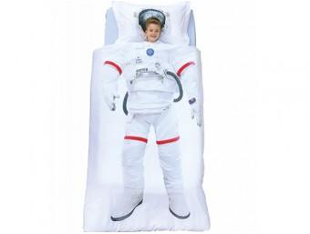 Lenjerie de pat copii Bumbac 100% Astronot