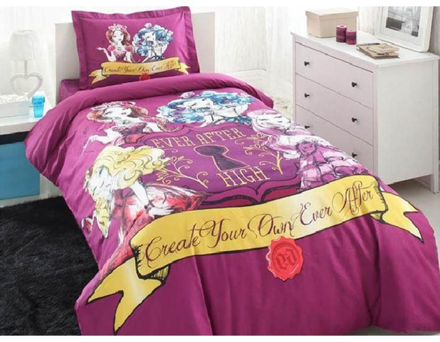 Lenjerie de pat copii Bumbac 100% Ever After High 2