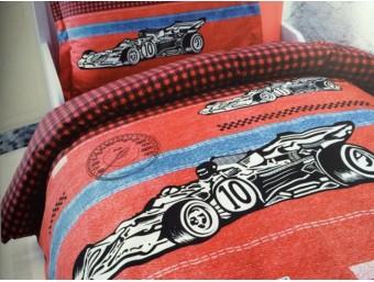 Lenjerie de pat copii Bumbac 100%  Racing